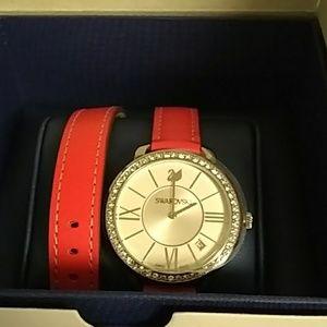Swarovski Berry Double Strap Watch